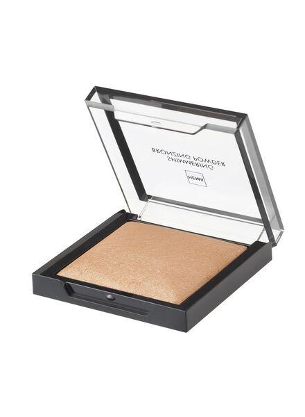 poudre bronzante scintillante gold - 11295101 - HEMA