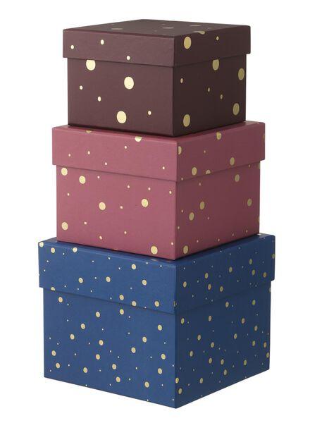 3 boîtes en carton - 39882011 - HEMA