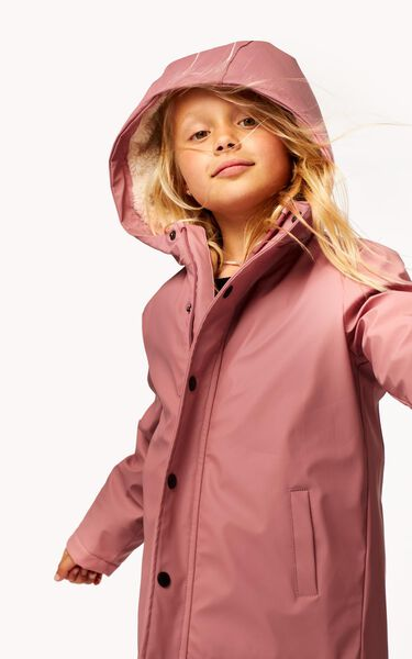 Kinder-Jacke rosa 146/152 - 30861454 - HEMA