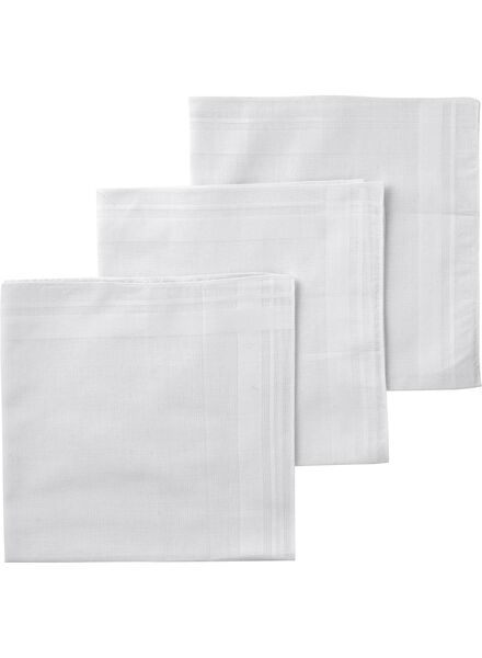 3-pack men's handkerchiefs - 1400001 - hema