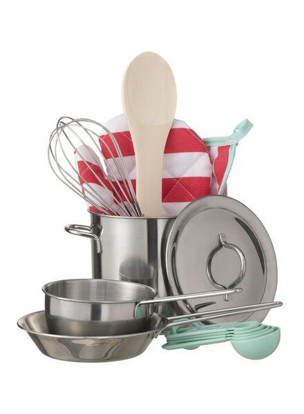 13-teiliges Spielzeug-Kochset - 15122206 - HEMA
