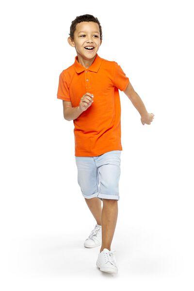 children's polo shirt orange orange - 1000018932 - hema
