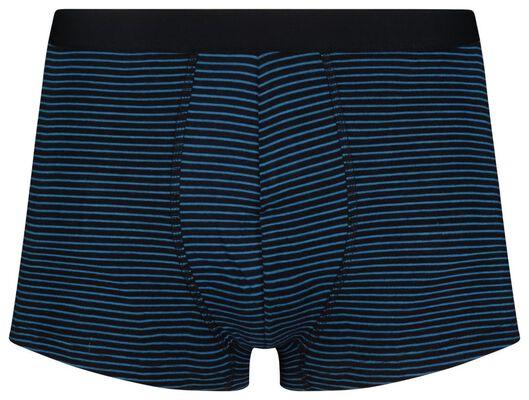 3-pack men's boxer shorts short cotton stretch blue blue - 1000019050 - hema