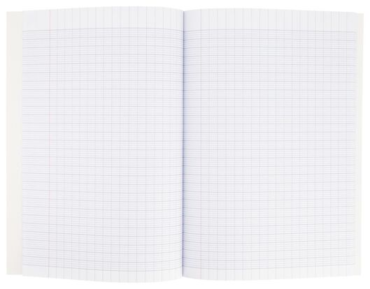 exercise book 25.5x18 with large squares (Seyès) - 14130061 - hema