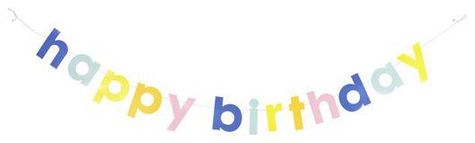 HEMA Guirlande 1,5 M Happy Birthday