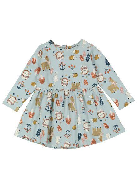 Babykleiderroecke - HEMA Baby Kleid Hellblau - Onlineshop HEMA