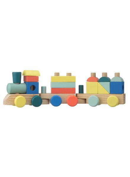 train avec blocs en bois 44 x 9 x 13 cm - 15110330 - HEMA