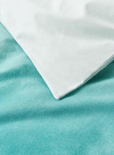 housse de couette-coton doux-200x200cm-vert vert 200 x 200 - 5700157 - HEMA