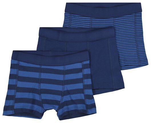 HEMA 3 Boxers Enfant Bleu (bleu)