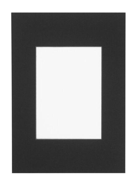passe-partout A4 noir 13 x 18 noir - 13691034 - HEMA