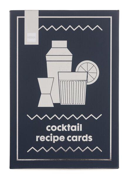 30 fiches recettes cocktail en anglais - 60700387 - HEMA
