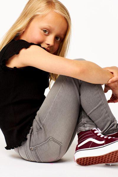 Kinder-Skinnyjeans grau grau - 1000024414 - HEMA