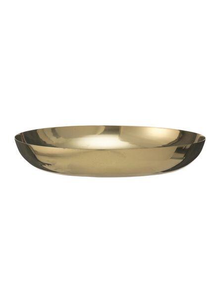 candle plate - Ø 12 cm - gold - 13382062 - hema