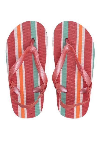 children's flip-flops pink pink - 1000012341 - hema