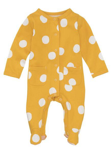 HEMA Baby Jumpsuit Gelb