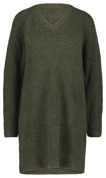 Damen-Pullover olivgrün olivgrün - 1000021344 - HEMA
