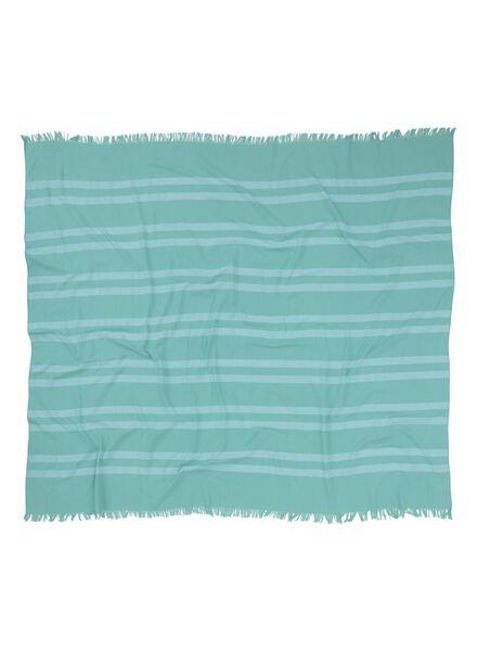 serviette hammam 160 x 180 cm vert menthe 160 x 180 - 5210045 - HEMA