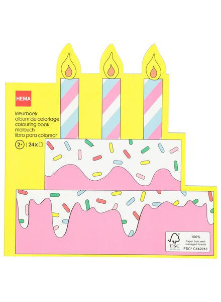 colouring book cakes - 15920014 - hema