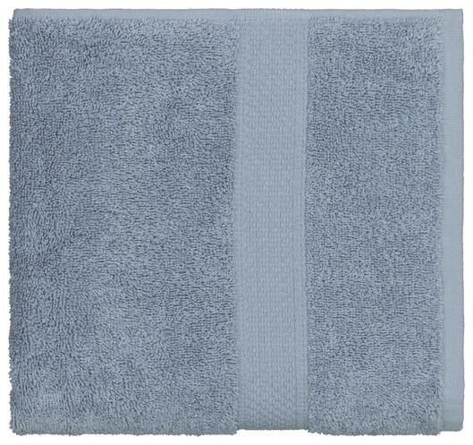 serviette de bain - 50 x 100 cm - qualité épaisse - bleu glacier - 5290072 - HEMA