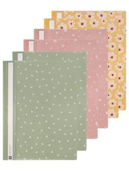 6 quick binders hearts - 14590414 - hema