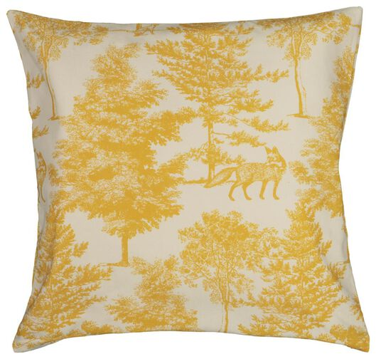 cushion cover 50x50 - forest yellow - 7322001 - hema