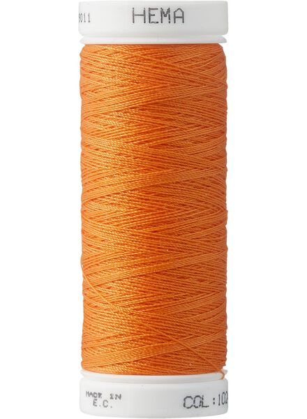 fil à coudre machine fil pour machine à coudre orange - 1422027 - HEMA