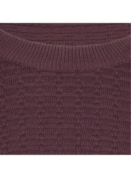 men's sweater dark red XL - 34270412 - hema