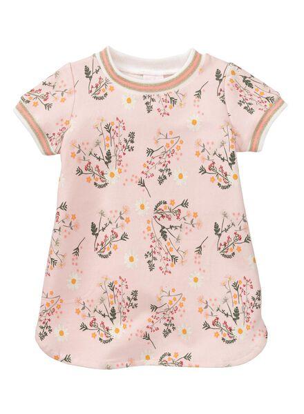Babykleiderroecke - HEMA Baby Sweatkleid Hellrosa - Onlineshop HEMA