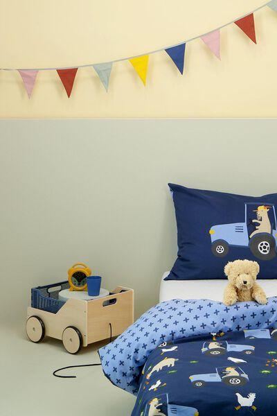children's duvet cover 140x200 soft cotton goat - 5720151 - hema