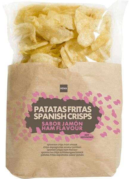 spanish crisps - ham - 110 grams - 10635780 - hema