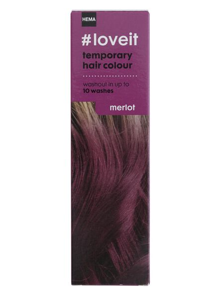 temporary hair dye merlot - 11030001 - hema