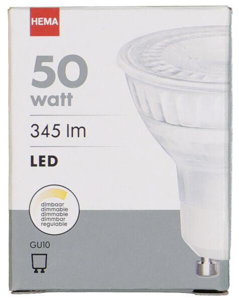 LED light bulb 50W - 345 lm - spot - bright - 20020050 - hema