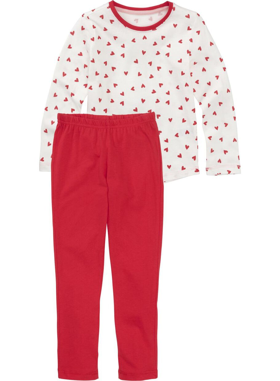images children s pyjamas red red - 1000012218 - hema b3c2ea287