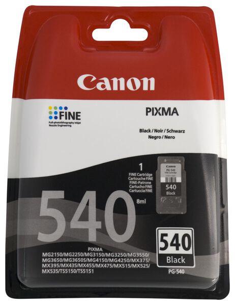 cartridge Canon PG-540 zwart - 38300108 - hema
