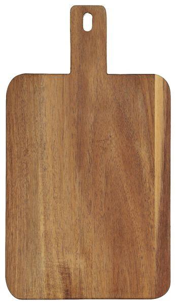 Servierbrett, 32 x 18 x 2 cm, Holz - 80810331 - HEMA