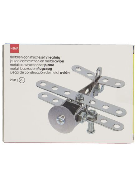 kit de construction avion métal - 15190310 - HEMA