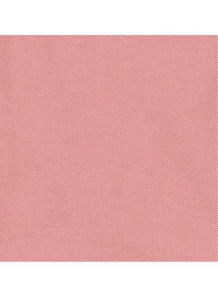 men's polo shirt organic cotton pink pink - 1000006098 - hema