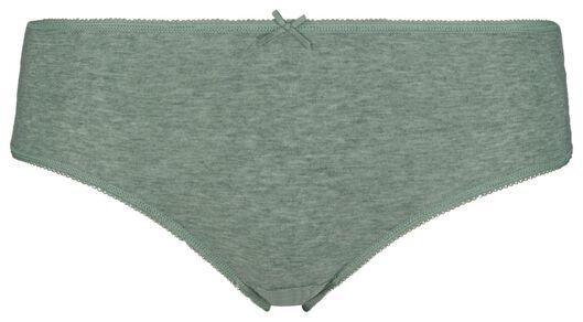 3-pack women's hipster panties green green - 1000018557 - hema