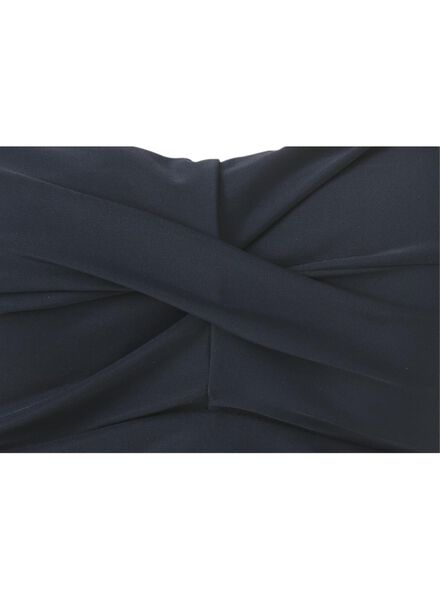 women's swimsuit strapless medium control recycled blue blue - 1000017914 - hema