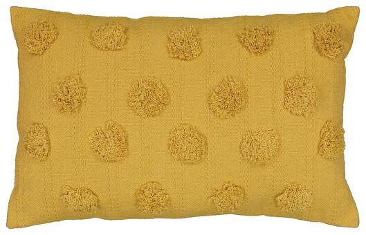 Kissen, 35 x 55 cm, Punkte, ockergelb - 7311037 - HEMA