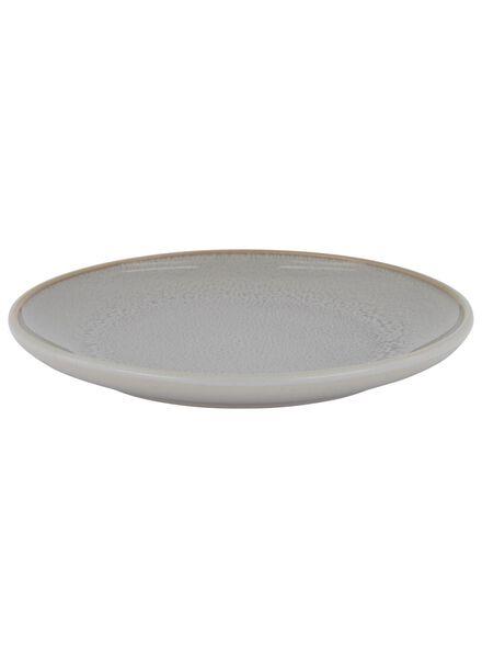 assiette à dessert 16.5 cm - helsinki - émail réactif - gris clair - 9602016 - HEMA