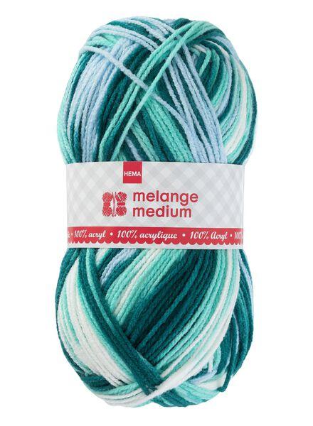 knitting yarn medium medium 100 g mid green - 1400172 - hema