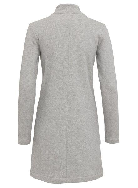 women's cardigan grey melange grey melange - 1000006744 - hema