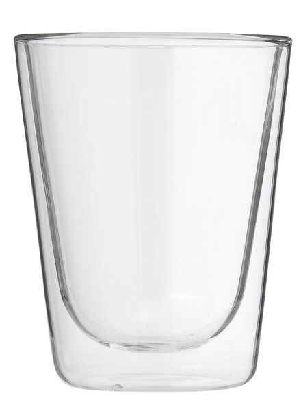 doppelwandiges Glas – 200 ml - 80682133 - HEMA