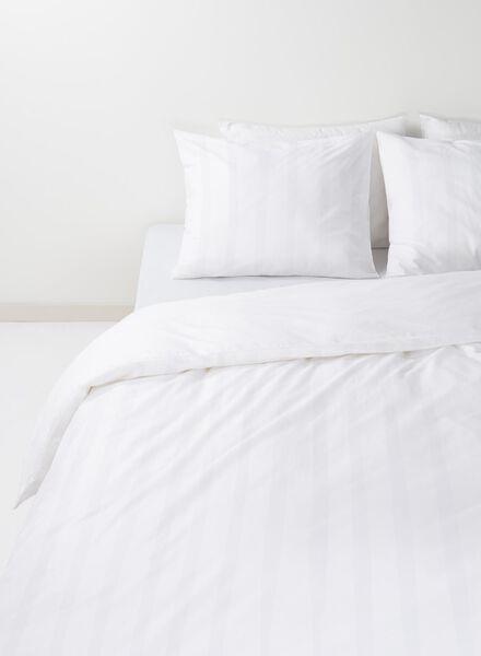 housse de couette-hôtel coton satin blanc blanc - 1000014105 - HEMA