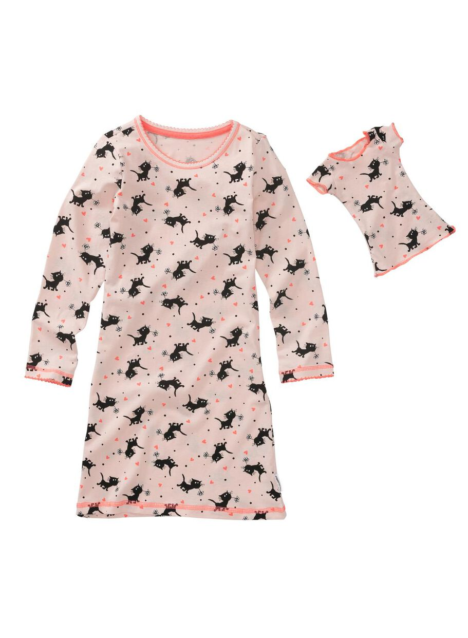 e78398abe72 Abbildungen Kinder-Nachthemd hellrosa hellrosa - 1000009660 - HEMA