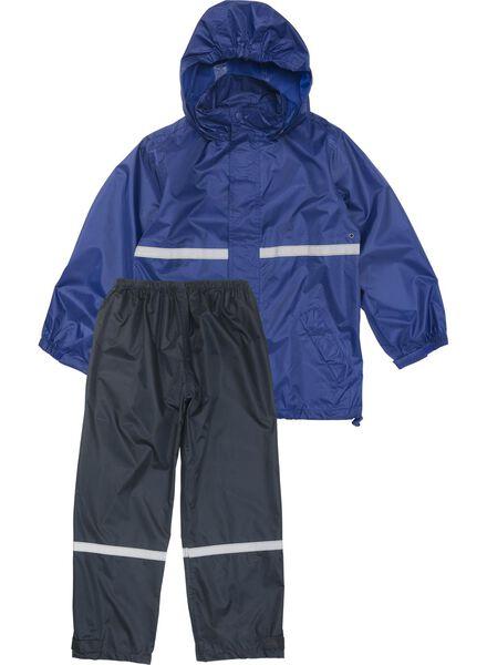 children's rainproof suit blue blue - 1000006267 - hema
