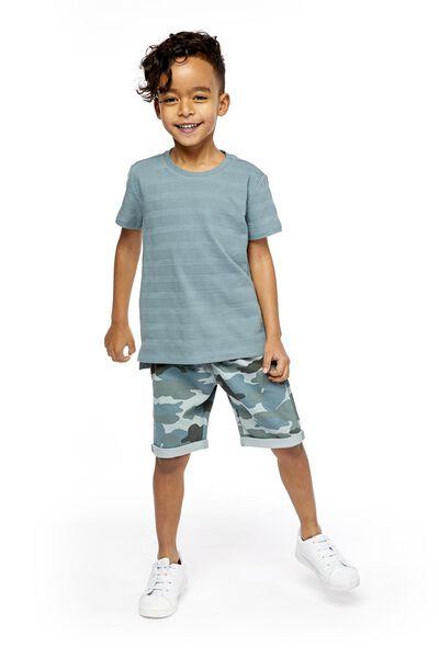 2-pack children's shorts dark green dark green - 1000019020 - hema