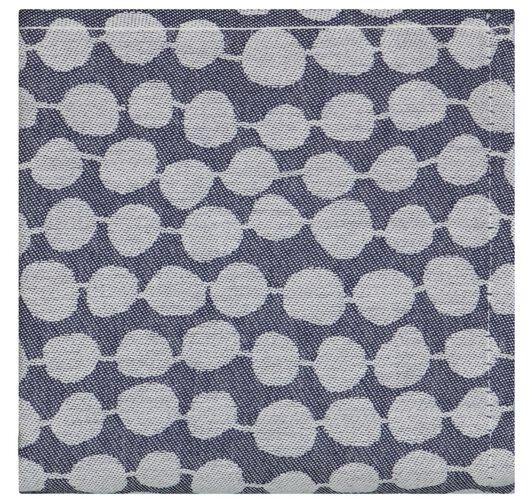 Geschirrtuch, 65 x 65 cm, Baumwolle, Perlen, dunkelblau - 5410137 - HEMA