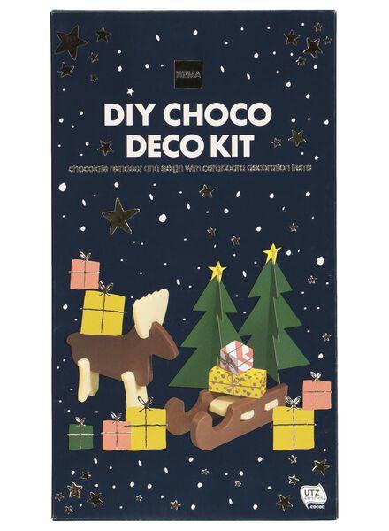 chocolate reindeer and sleigh assembly kit - 10000157 - hema